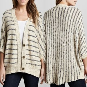 Free People Rabbit In The Moon Slouchy Cardigan